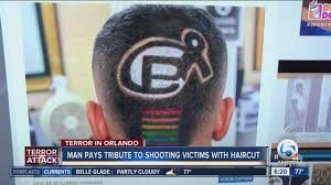 tampa man u0027s haircut pays tribute to pulse nightclub victims youtube