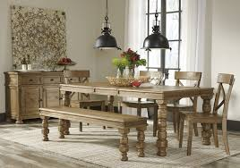 buy trishley rect dining room ext table by signature design from