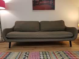 mid century style sofa habitat mid century style sofa 3 seater in camberwell london