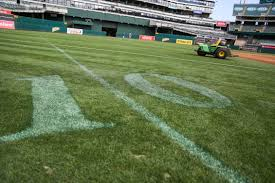 How To Build A Baseball Field In Your Backyard When A U0027s And Raiders Overlap The Great Oakland Coliseum