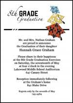 8th grade graduation invitations popular graduation announcements invitations cards