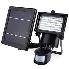 led solar security light sl 60 led solar security ls 43 58 free shipping gearbest com