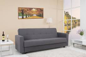 Convertible Storage Sofa by Grey Sofa Bed Sleeper