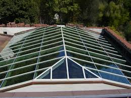 Skylight Design by Architecture Wonderful Roofing Design With Pyramid Kalwall
