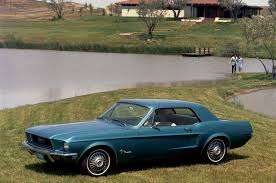 ford mustang 1968 coupe color shift ford mustang color popularity the decades