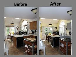 Kitchen Remodel Before After by Yellow U0026 Gray Kitchen Remodel Before U0026 After Gray Kitchens