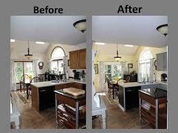 Gray And Yellow Kitchen Decor - yellow u0026 gray kitchen remodel before u0026 after gray kitchens