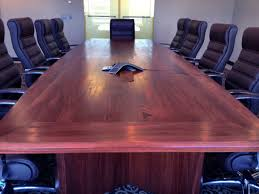 dark wood conference table dark red conference tables custom conference table