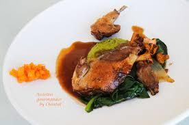 cuisiner du pigeon pigeon en cuisson sous vide basse température cuisses confites