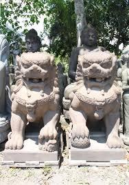 shishi statue pair of foo dogs or shishi lions 61 100ls3 hindu gods