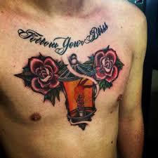 deft studio tattoos part chest tattoos for