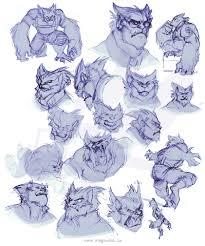 beast sketches 1 u2014 weasyl