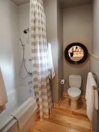 Bathrooms With Shower Curtains Hgtv Home 2011 Guest Bathroom Pictures And From