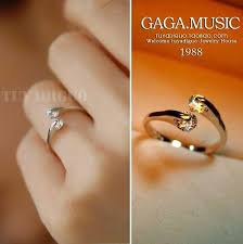 vintage crystal rings images Vintage crystal ring classic artificial diamond ring small 2 pinky jpg