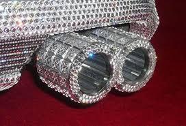 diamond studded diamond studded mercedes 4 8 million car automobiles