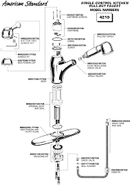 american standard kitchen faucets american standard kitchen faucet parts diagram ww 1 wonderful