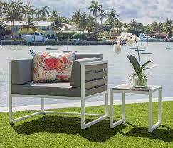 Modern Aluminum Outdoor Furniture by Outdoor Furniture Anacapri Outdoor Corner Sofa Mh2g