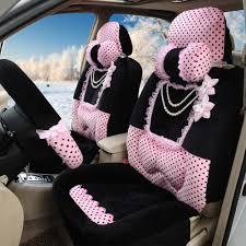 housse siege avant voiture universal hiver chaud housse de siège de voiture noir souple