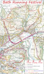 Running Map Route by Relish Running Races