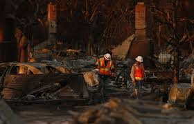 Ca Wildfire Containment by California Wildfires Have Killed 40 People Dozens Still Missing