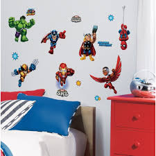 themed superhero bedroom decor for child for home interior design