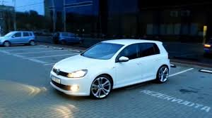volkswagen golf mk6 vw golf 6 white rabbit r line r19 youtube