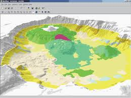 Oregon Volcano Map by 1 Crater Lake Revealed