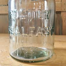 Glass Canisters For Kitchen Vintage Mason Jar Foster Sealfast Glass Jar Vintage Kitchen