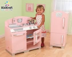 kidkraft cuisine vintage kidkrat 2 retro kitchen refrigeratorf