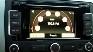 radio station tuning in a 2012 volkswagen cc youtube