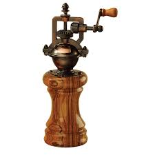 antique style copper finish peppermill mechanism at penn state