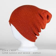 c14 a super slouch custom beanie acrylic u2014 captuer headwear