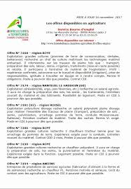 chambres agriculture chambre agriculture recrutement fre d emploi chambre d agriculture