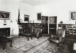 1930 homes interior lincoln bedroom white house museum
