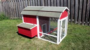 old red barn chicken coop by precision pet video gallery