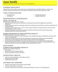 Key Competencies Resume How To Write A Resume 100 Images Picturesque Design Ideas How