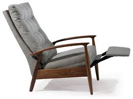 modern recliner chairs with wooden arms modern recliner chairs