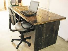 Rustic Desk Ideas Rustic Corner Computer Desk For Small Spaces Castero Pertaining To