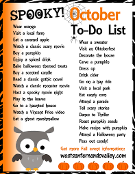october to do list 31 things to get in the fall season spirit