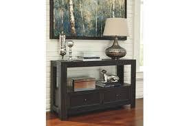 ashley gavelston end table gavelston sofa console table ashley furniture homestore