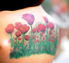 34 colorful tulip tattoos and their creative meanings tattoos win