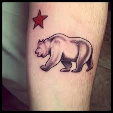 california tattoo bear and logo pictures to pin on pinterest