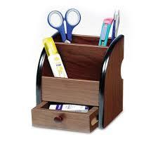 Small Desk Organizer High Quality Wooden Pen Holder Stationery Holder Pen Pots Desk