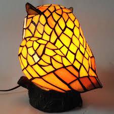 sunpro rakuten global market owl type stained glass lamp