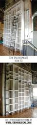 Bookcase With Ladder Best 25 Tall Bookshelves Ideas On Pinterest Library Bookshelves