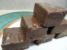 five minute fudge using evaporated milk marshmallows and
