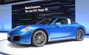 miami blue porsche targa 2017 porsche targa special edition autosdrive info