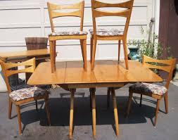 Heywood Wakefield Dining Room Set Blonde Wood Heywood Wakefield Style Lounge Chair Blonde Wood