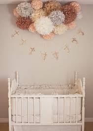 Nursery Diy Decor Nursery Poms 15 Tissue Paper Pom Poms Wedding Decorations