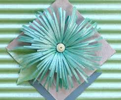 fringed paper flowers by all things paper project papercraft